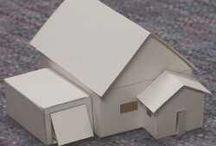 Paper and metal Houses