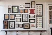 Gallery Walls / by Food, Fitness, and Family