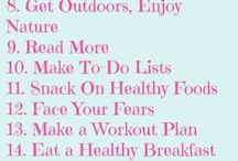 25 healthly habit board
