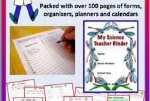 Science Teacher / These items will improve life for the teacher.  Includes organizational items, posters, bulletin board stuff, and the like. / by Science Stuff