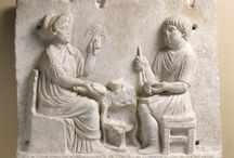 oficios romanos.relieves
