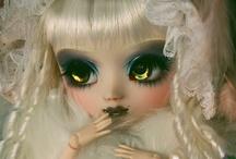 Pullips,  BJD &  other dolls  / Les pullips sont des dolls originaires de Corée customisables et sont aussi d'excellents support pour faire de la photographie.   / by faerie003