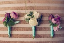 Beautiful Boutonnieres / Some beautiful bouts that will make your groom stand out.