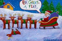 Cartoons and other funny things for christmas