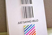 """Hello Cards"" I made"