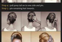 Hairstyles / Always try to look nice, it doesn't take much! / by Hollie Head