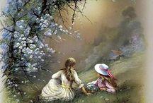 Festészet:romantika és rokokó
