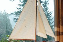 Boat Models / Create a nautical look in your coastal home with Sailboat and Power Boat Models!