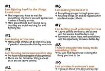 Inspiration and positive thinking