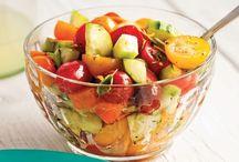 Salade - de legumes et fruits