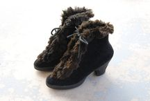 Vintage Winter Boots and Shoes
