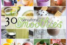 Smoothies and drinks