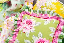 Unabashedly pink & green / by Kate Dickerson/KSH Needlepoint