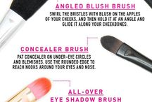 Make up / How to and various make up tools