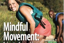 Food for Thought - Mindful Movement / These images are from our Spring 2016 issue of Food for Thought on the topic of yoga and mindful movement. www.thecenterformindfuleating.org/food-for-thought