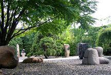 sculptural  garden