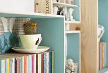 [ Home ] ✪ Style Scandinave / Des caisses en bois pour composer une ambiance naturelle et épurée