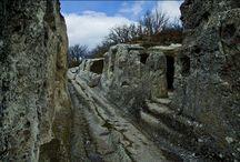 Эски-кермен, пещерный город