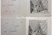 Zentangles, lines and pattern ideas
