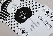 Milníkové kartičky - Milestones cards