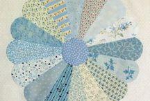 patchwork-drážďanský talíř