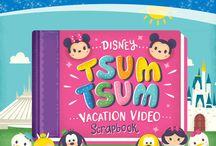 Disney Tsum Tsum / My board for my love of Disney Tsum Tsum
