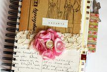 Journals scrap, doll, art...