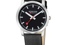 Mondaine Watches / Some of my favorite watches from the Swiss Railway Watch Company!