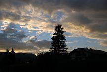 about me - sundown in Oberstdorf, Germany