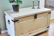 Cedar chest makeovers
