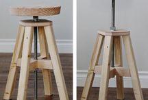 diy garage stool