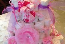 Diaper cakes and instructions