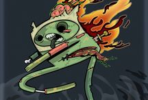 My Deviatons! / Artwork by Sara Cuni (SAC) Fan art ADVENTURE TIME   Ink on A4 paper Digital color with Adobe Photoshop CS6  Commissions:  Single Character  32$ (United States Dollars) Digital ink and colors with Adobe Photoshop  Additional Character 16$ (United States Dollars)  More infomation: http://sacenemies.deviantart.com/ :D