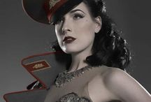 C. Hail to the Dita! (Pinup Dita Von Tease) / A tribute to the ever stylish pinup model Dita von Teese.