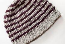Easy crochet beanies