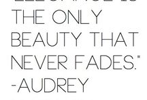 Audrey / Audrey is the only person I aspire to be. / by Tiffany Kristen