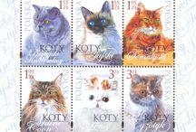Stamps/Znaczki pocztowe