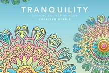 """""""Tranquility"""" Book and Pages / Book and Printable Coloring Pages"""