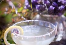 Beverage {with flowers}