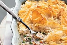 Casseroles and Pies
