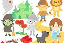 Art & Doodles - Characters - Wizard of oz