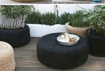 DECORATION - CAR TYRES