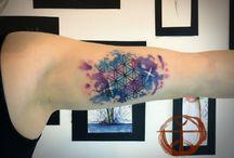 Colours tattoo
