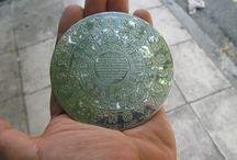 Christofle Silver Plaquette Antiue Symbols