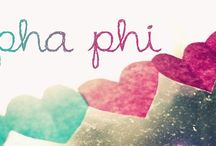 Cover Photos / Alpha Phi-inspired cover photos for your chapter's use.