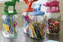 pots à crayons décorés