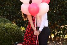 Photography - Love is in the air / Photo shoot ideas for couples.