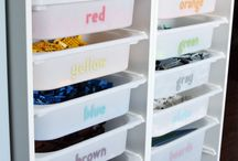 Storage Solutions - LEGO / Let's get organized! Has your builders collection taken over the house? These storage solutions will keep the creativity up and the mess down.