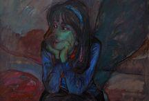 Retratos al óleo / Pinturas de José Velázquez de Castro