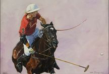 Painting Gonzalito Pieres / Oil on canvas.